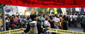 Taiwan Anti-nuke protest (file picture)