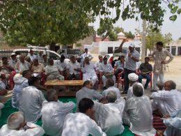 Gorakhpur village meeting2