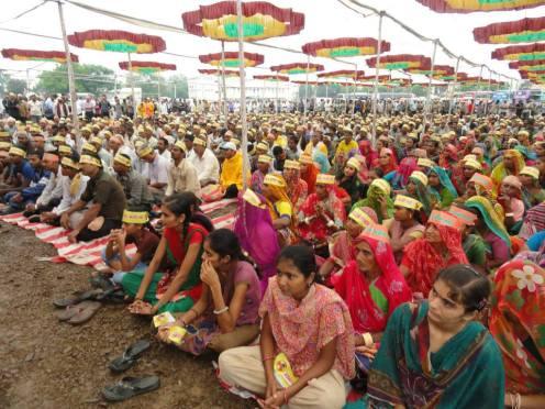 Protest meeting at Bhavnagar