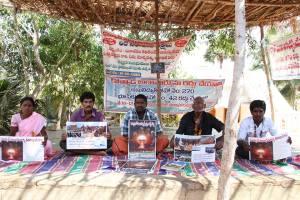 People at hunger strike in Kovvada