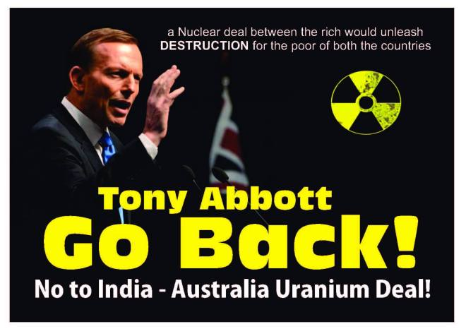 Poster Against Tony Abbott