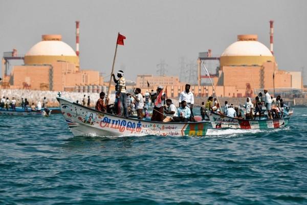 Koodankulam boat rally