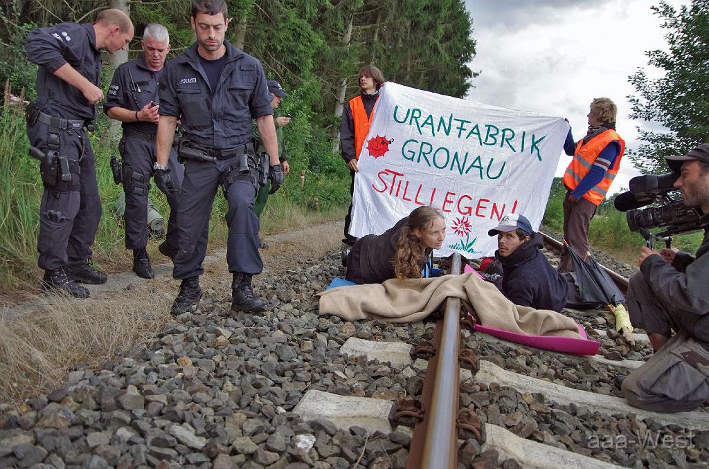 [Sign Petition] Global solidarity with Hanna Poddig, arrested in Germany for anti-nuke action