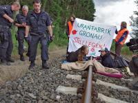 Update: German anti-nuke activist Hanna Poddig harassed further after arrest