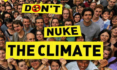 """Nuclear Industry Eyeing $100 Billion Climate Fund: Before COP23, Coalition Formed To Say """"Don't Nuke The Climate!"""""""