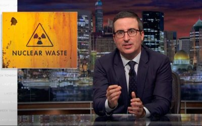 John Oliver On America's Dangerous Nuclear Waste Problem: Watch Video