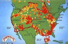 What Australia type fire may tell us about the possibility of nuclear disasters