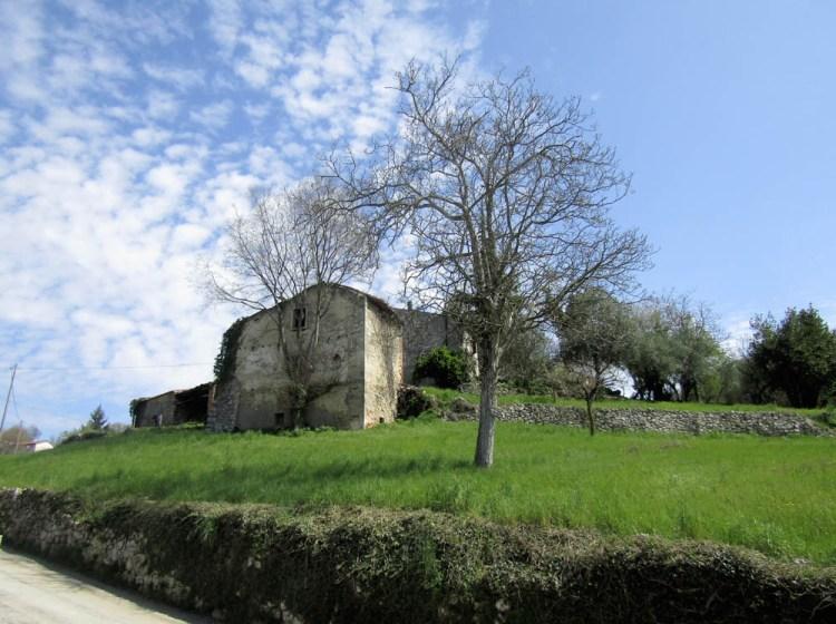 vecchie abitazioni a Chiesa Vecchia