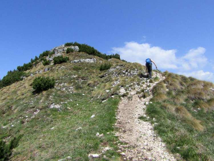 sentiero per la cima Marzola