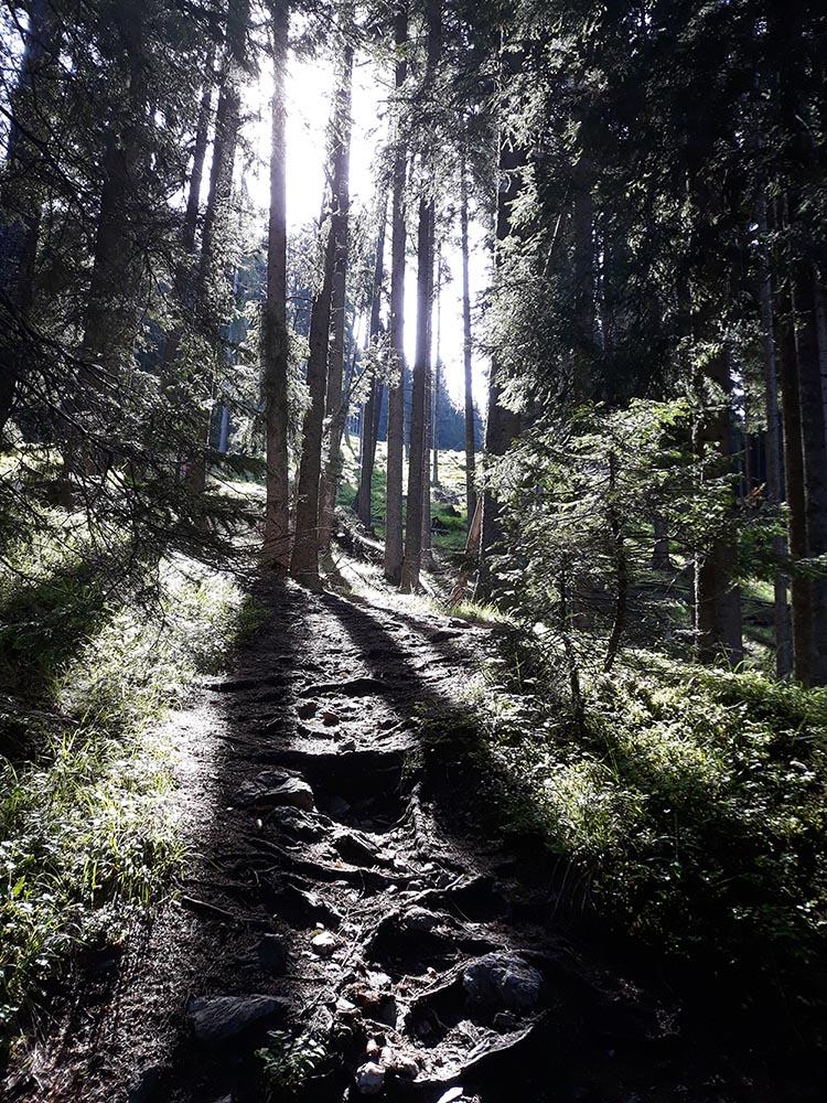 sentiero dei nomadi
