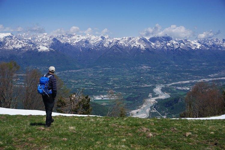panorama sulle Dolomiti Bellunesi
