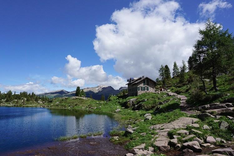 rifugio laghi Colbricon