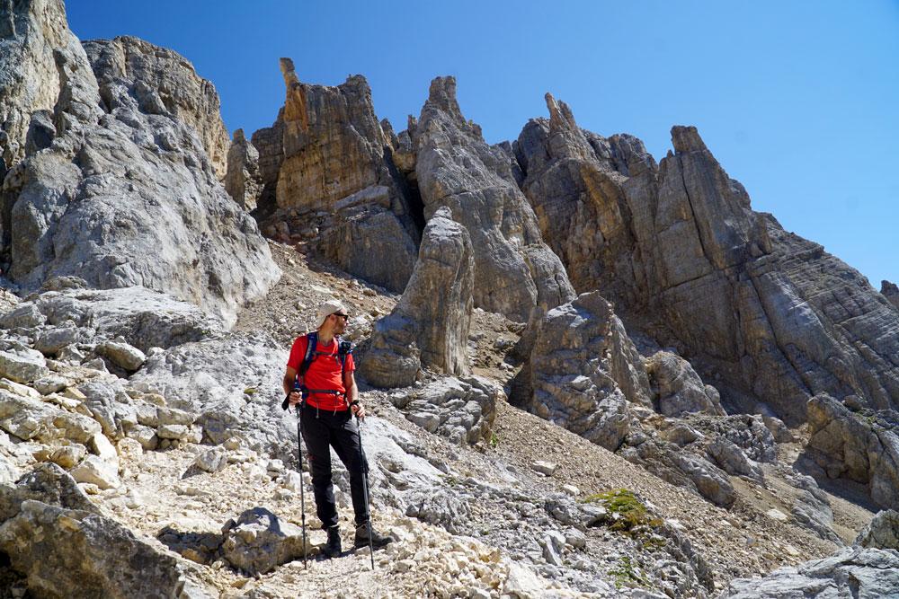 Trekking rifugio Torre di Pisa