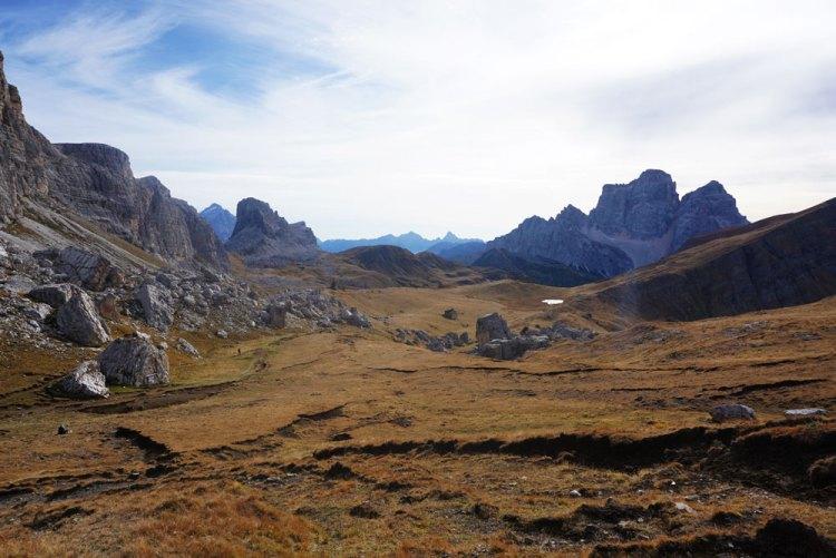 Becco di Mezzodì e Monte Pelmo