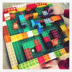 lego, maze, marble, race, kids