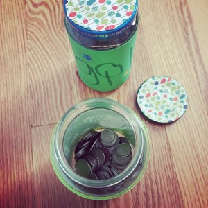 money jar, allowance, responsibility