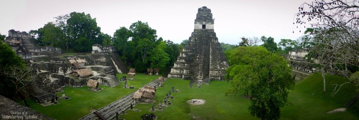 The view of the Grand Plaza from Temple II