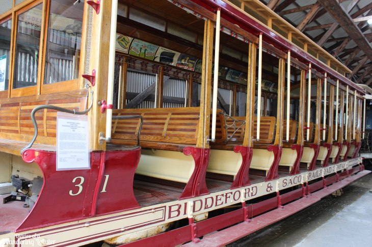 The first trolley rescued in 1939 that began the whole museum!