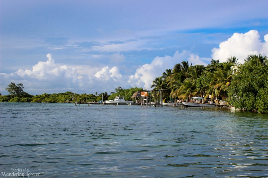 Caye Caulker Belize waterfront