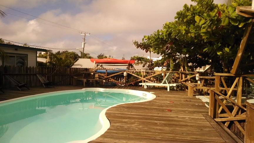 Pedro's Inn Belize pool