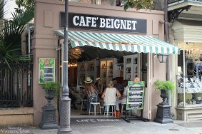 Cafe Beignets - not quite Cafe du Monde, but equally yummy!