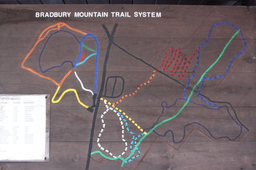 [img] Bradbury Mountain State Park trail system