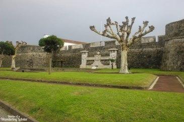 Ponta Delagada fort