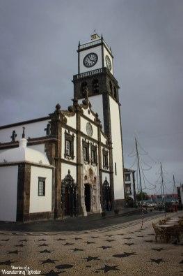 Sao Sebastiao chruch Ponta Delgada