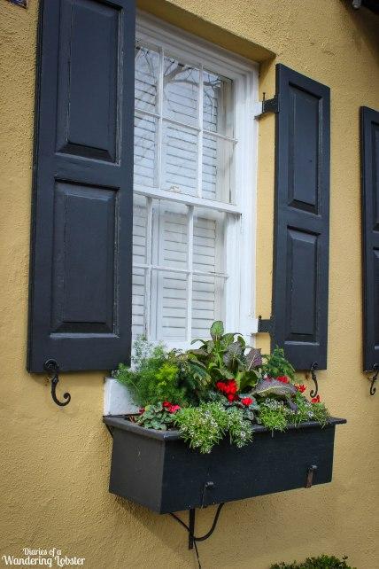 Charleston window box