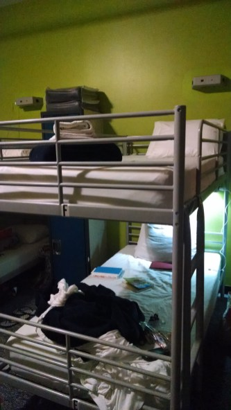 HI NYC Hostel bunks