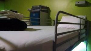 HI NYC hostel bed