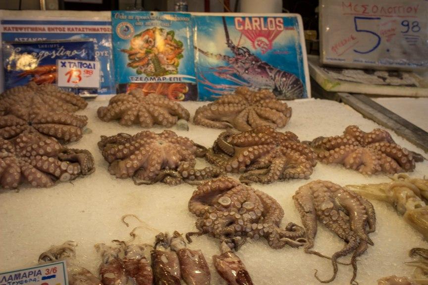 octopus varvakios agora
