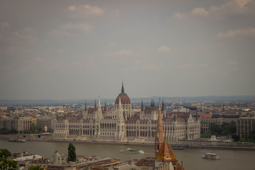 Views from Budapest