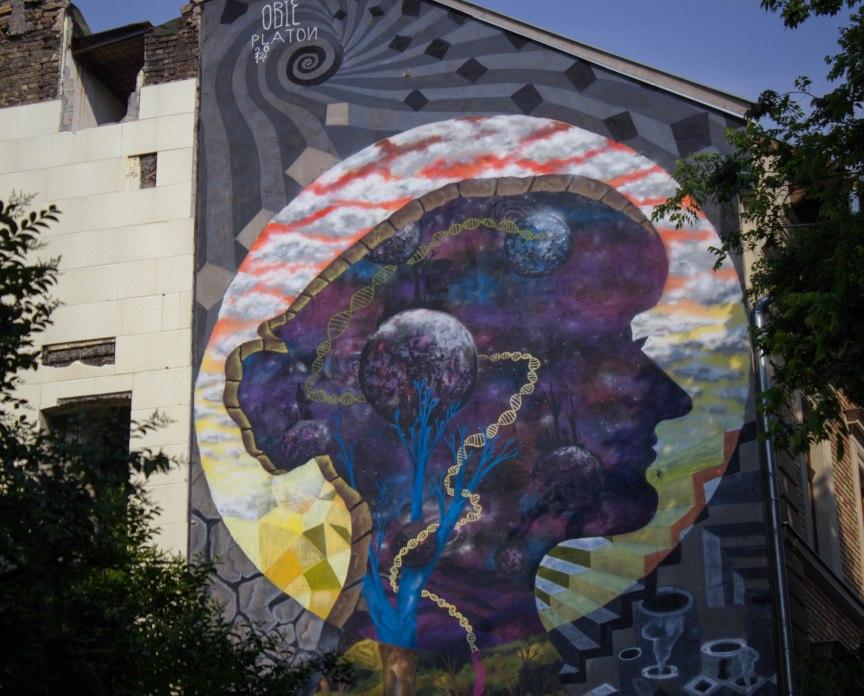street art Jewish Quarter Budapest