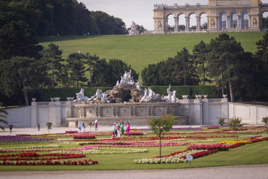 Schloss Schönbrunn gardens Vienna
