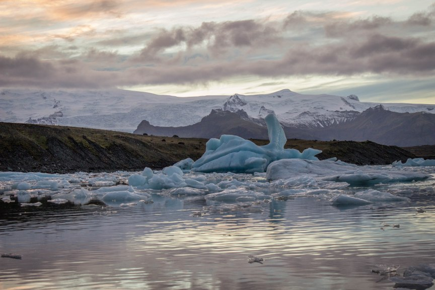 Glacier Lagoon Iceland travel photos of 2015 South Coast and Jokulsarlon Lagoon