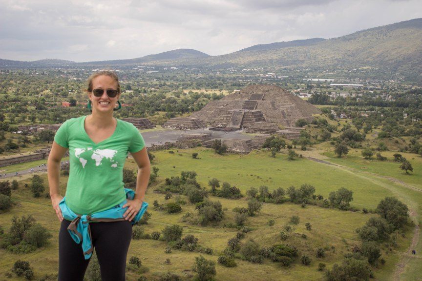 Teotihuacan Moon Temple Mexico City travel photos of 2015