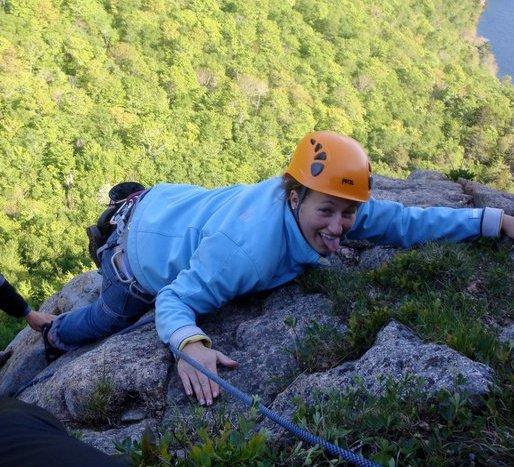 rock climbing Maine goodbye maine