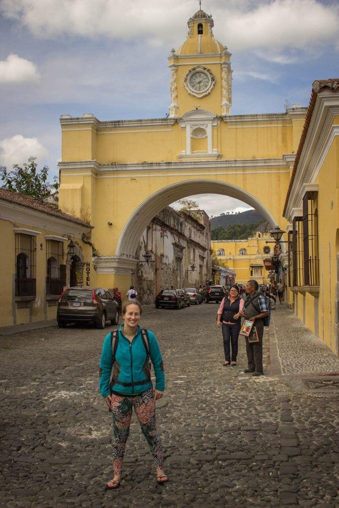 Antigua arch Guatemala
