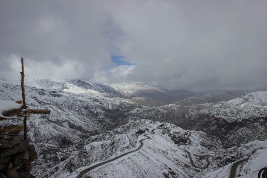 Atlas Mountains Morocco snow