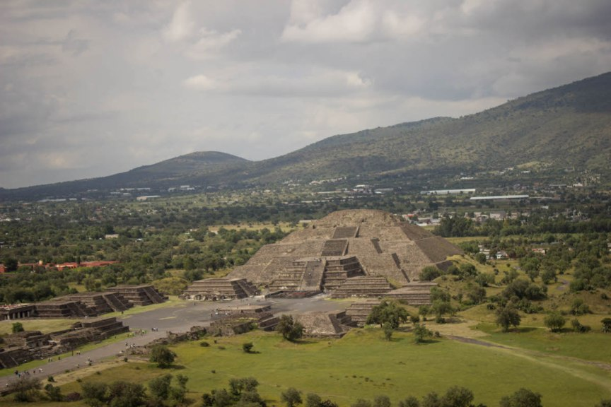 Teotihuacan Temple of the Moon