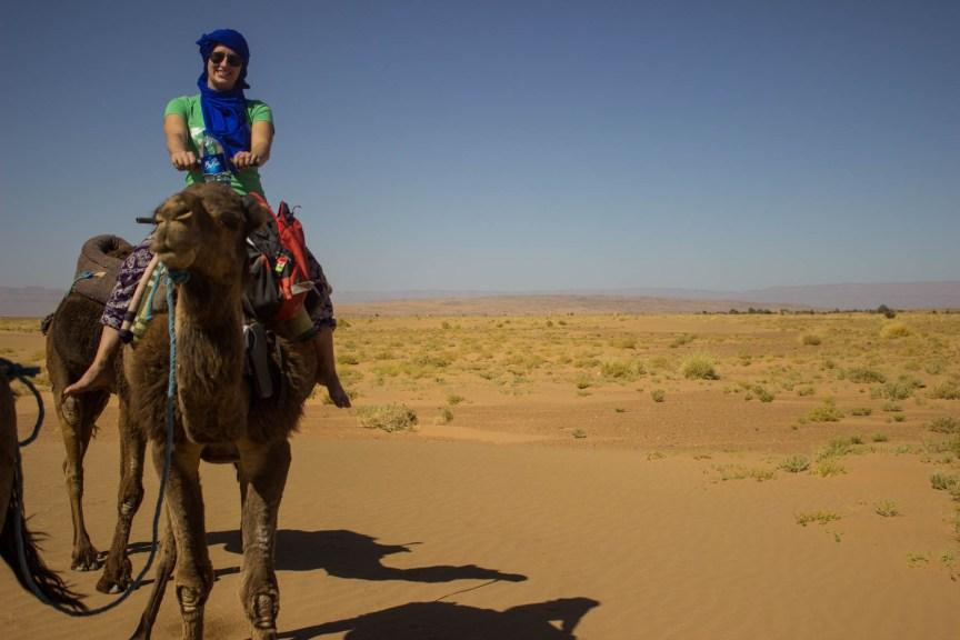 [img] camel ride Morocco travel tour