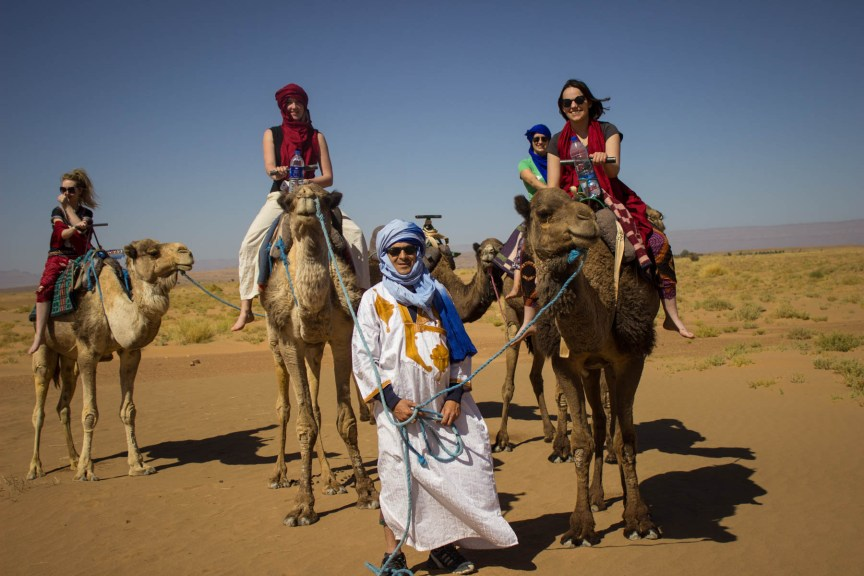 [img] camel ride Morocco travel tour