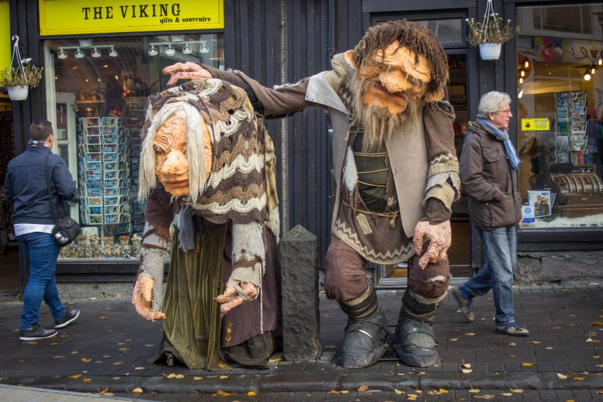 [img] giant elves Reykjavik how to spend 4 days in Iceland