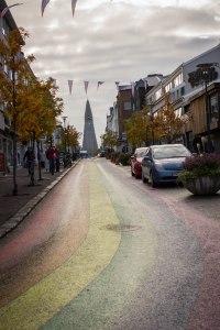 [img] Reykjavik Rainbow Road