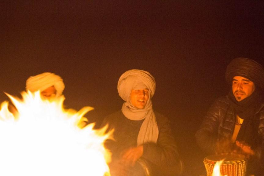 [img] desert campfire Morocco travel tour