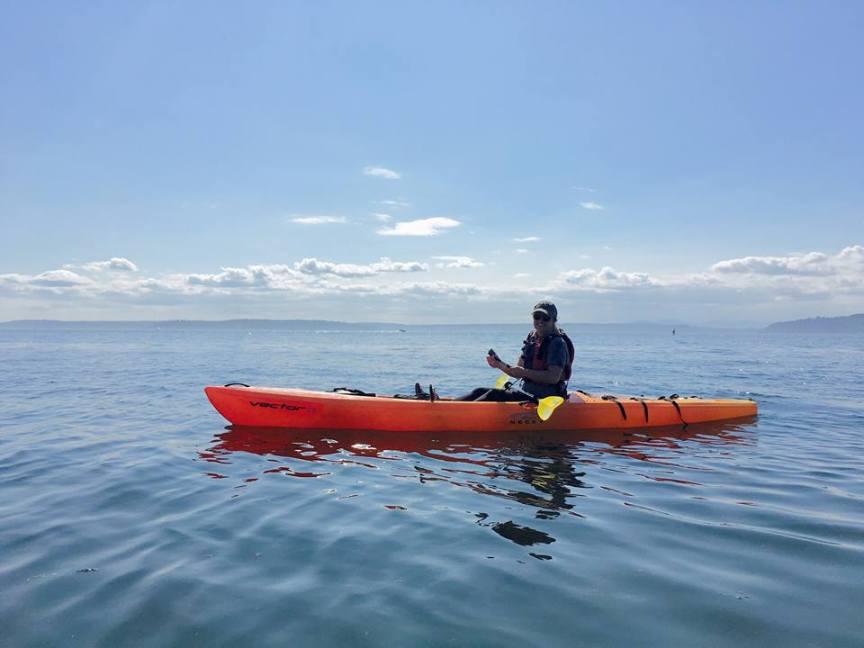 [img] sea kayaking Puget Sound