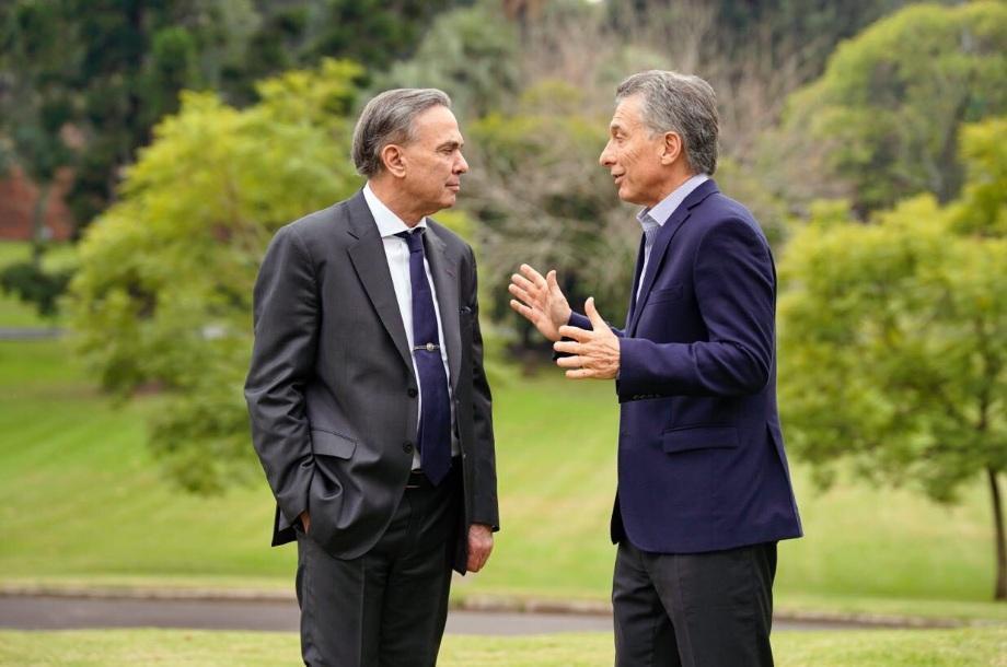 Miguel Ángel Pichetto y Mauricio Macri