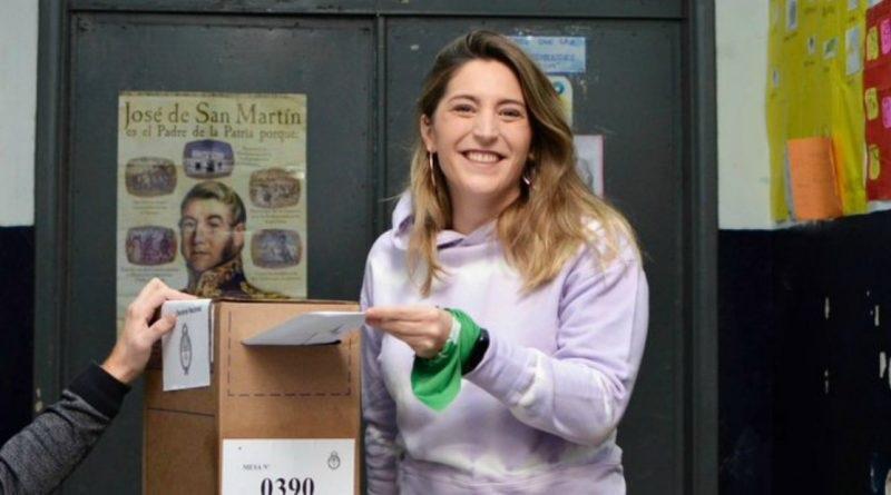 Manuela Castañeira, votación, elecciones 2019, PASO, TWITTER