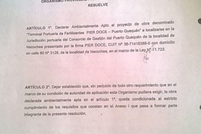 Rojas defendió a Pierdoce en el HCD